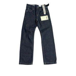 IKKS Boys Denim Slim Fit Jeans Pants NEW Size 6